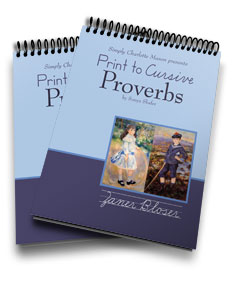 Print to Cursive Proverbs: A Review at The Curriculum Choice
