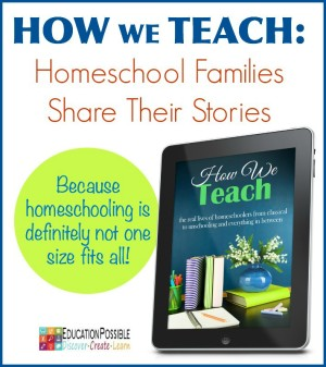 How We Teach Homeschool