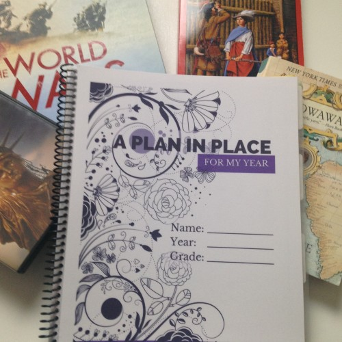 A Plan in Place Planners for Homeschool