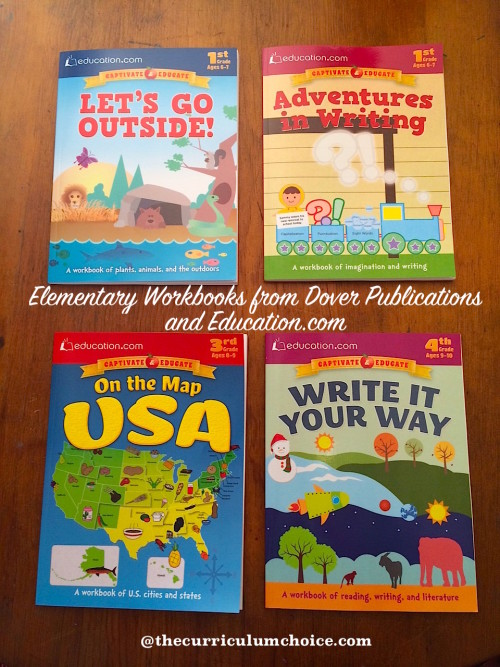 Elementary Workbooks from Dover Publications and Education.com