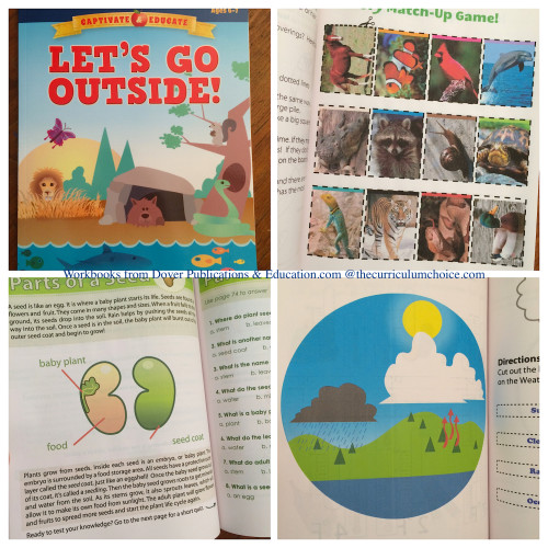 Let's Go Outside Workbook from Dover Publications and Education.com