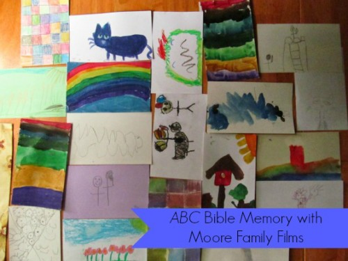 ABC Bible Memory with Moore Family Films