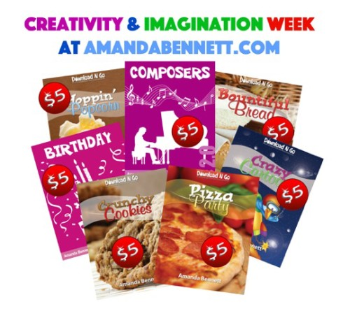 AmandaBennett.com Creativity and Imagination Week