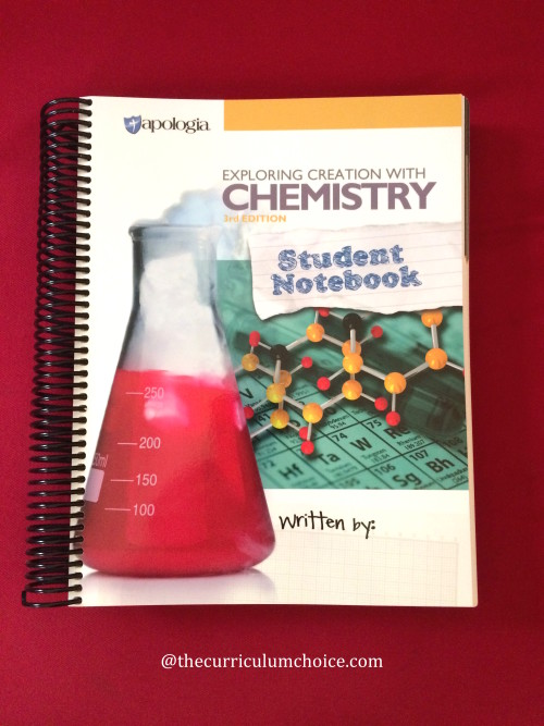Apologia Chemistry Student Notebook Review