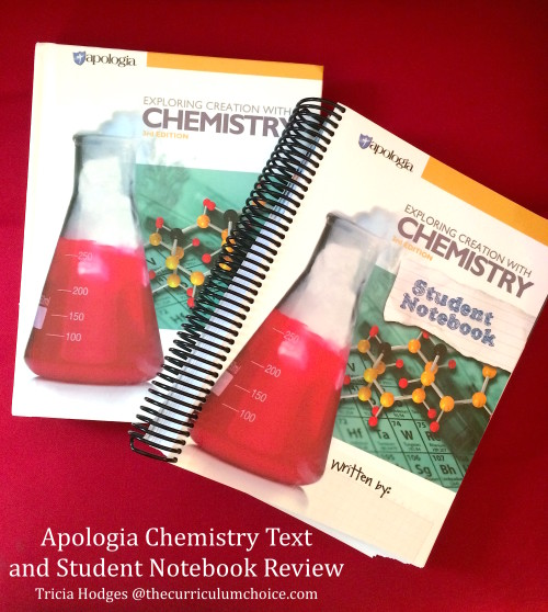 Apologia Chemistry and Student Notebook Review