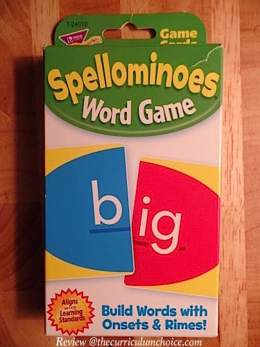 Spellominoes Review at The Curriculum Choice