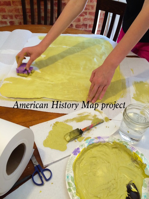 American History Map Project