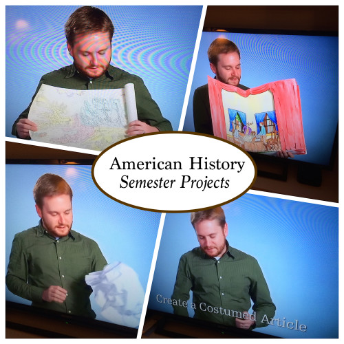 An overview of Compass Classroom's American History projects
