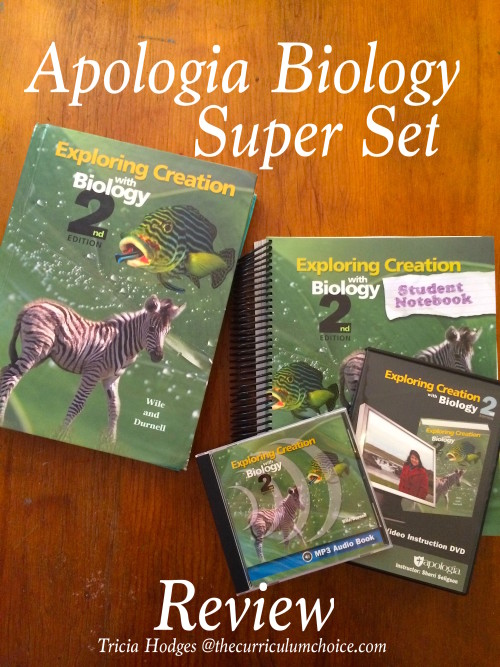 With Giveaway! Apologia Biology Super Set - Review at The Curriculum Choice
