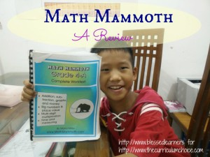 Math Mammoth - A Review