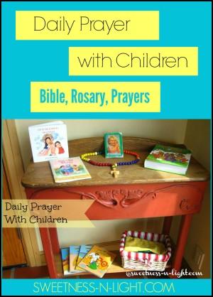 Daily Prayer With Children