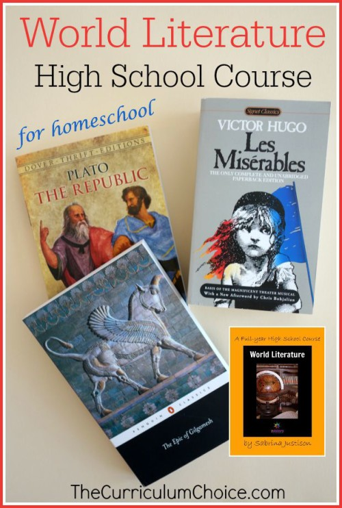 World Lit Course for Homeschool - The Curriculum Choice