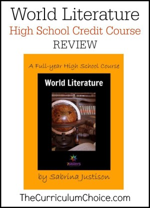 World Literature Course Review - The Curriculum Choice