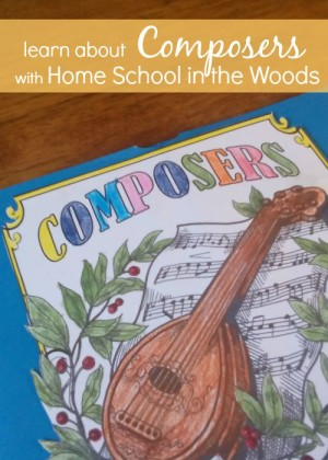 Composers Activity-Pak from Home School in the Woods