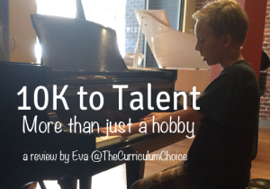 10K to Talent: More than just a hobby