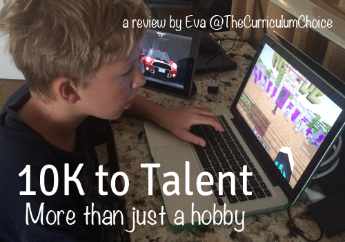 10K to Talent: More than just a hobby byEva@TheCurriculumChoice
