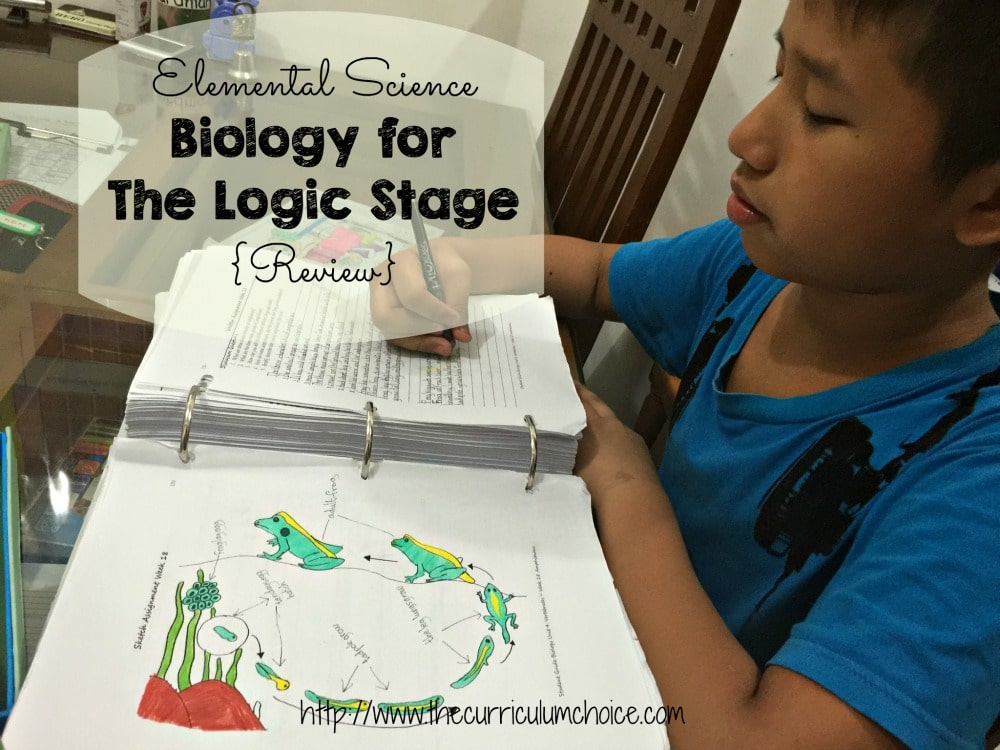 Elemental Science Biology for The Logic Stage {Review}