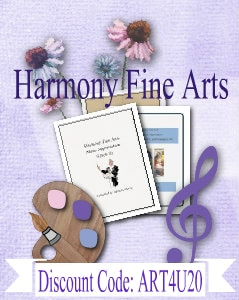 Harmony Fine Arts Discount Code Curriculum Choice Button