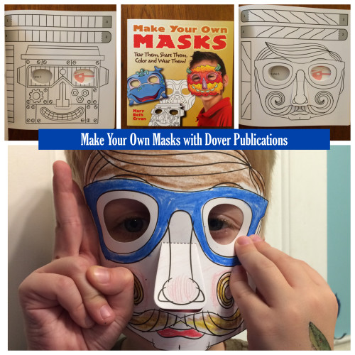 Make Your Own Masks with Dover Publications
