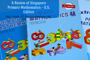 Singapore Primary Mathematics - U.S. Edition Review