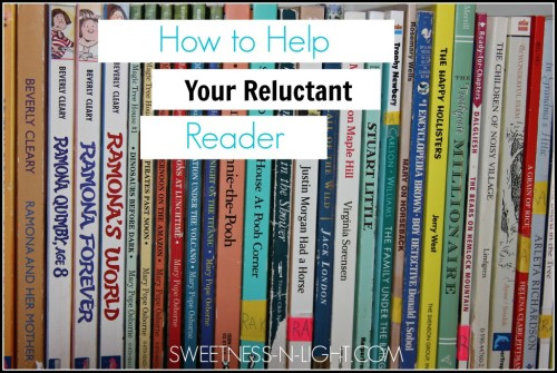 How to Help Reluctant Readers