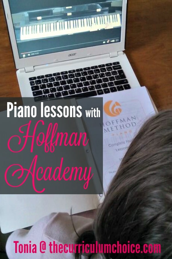 hoffman academy piano lesson