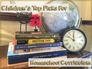 Children's Top Picks for Homeschool Curriculum - by the Review Team at The Curriculum Choice