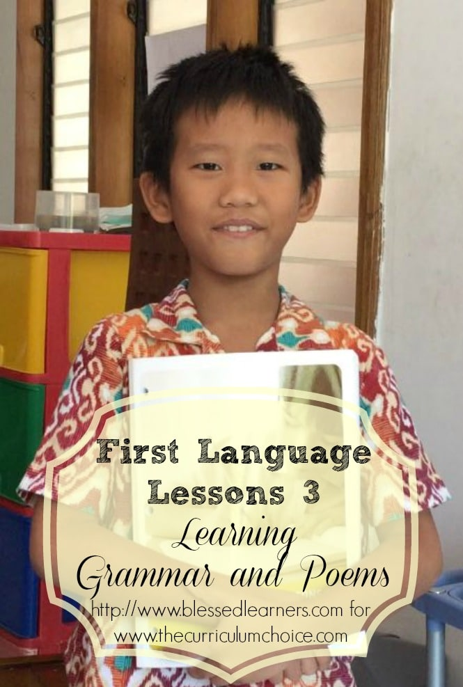 First Language Lessons 3