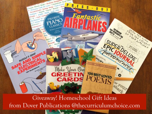 Giveaway!! Homeschool Gift Ideas from Dover Publications