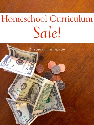 Homeschool Curriculum on Sale!