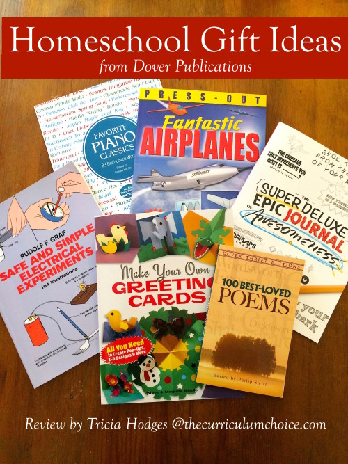 Homeschool Gift Ideas from Dover Publications