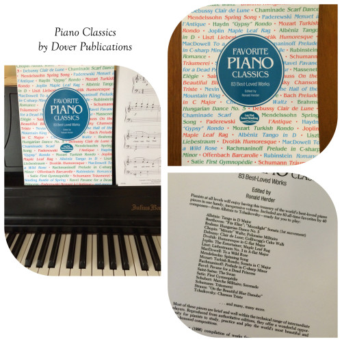 Piano Classics from Dover Publications