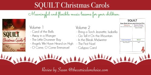 SQUILT Christmas Carols Lesson Plans