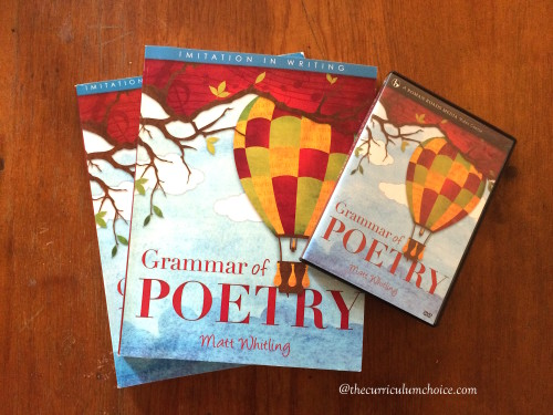 What does Grammar of Poetry Include?