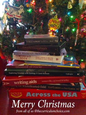 Merry Christmas from The Curriculum Choice! We are taking some time off with our families. But we know that January is a very big back to school time. You may be looking for new resources, making a big curriculum switch or even starting to homeschool.