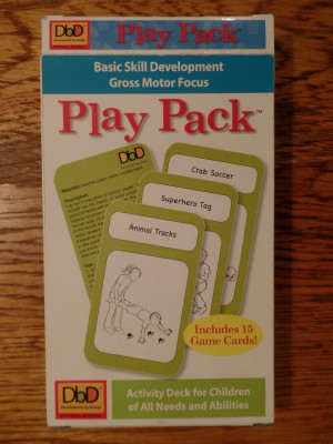 Play Pack – Play Activities for Gross Motor Development – My Review
