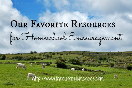Our Favorite Resources for Homeschool EncouragementFB