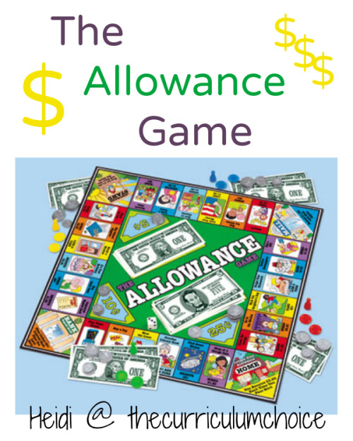 The Allowance Game from The Curriculum Choice