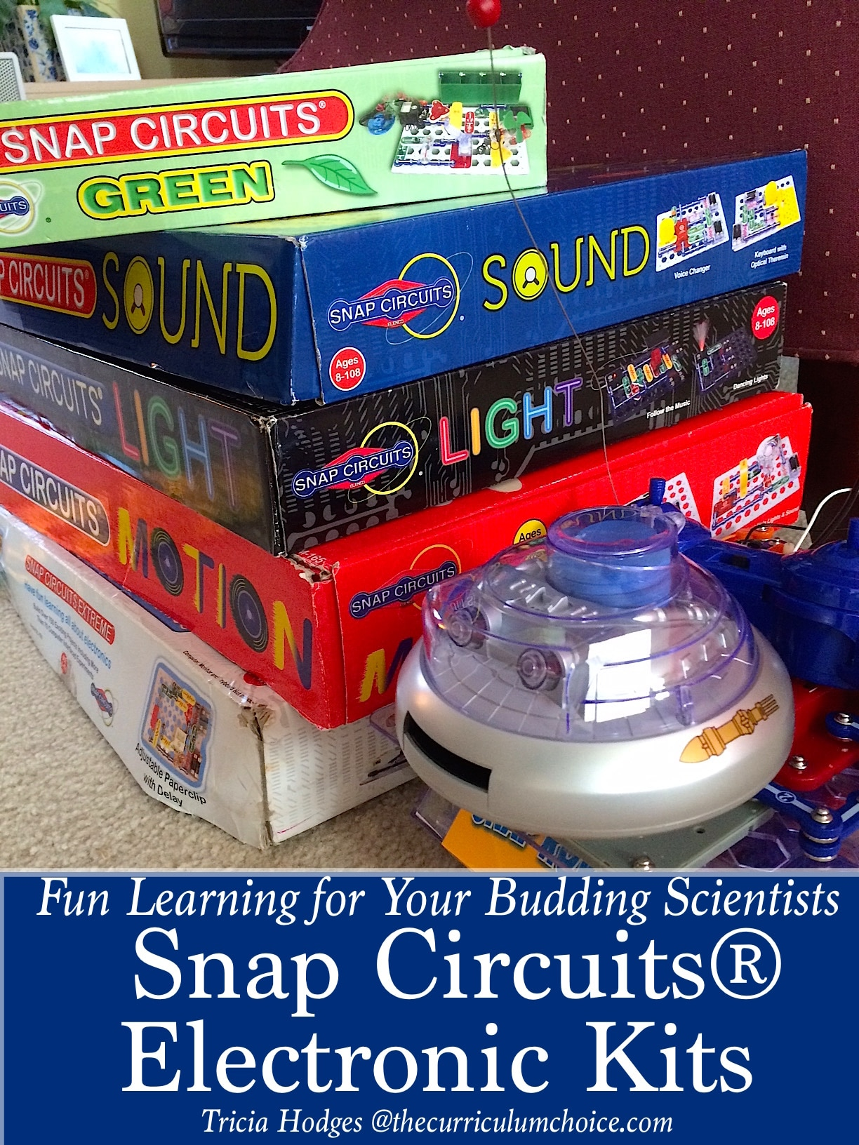 Electronics Experiment Kits For Your Budding Scientist The Electronic Snap Circuit Curriculum Choice