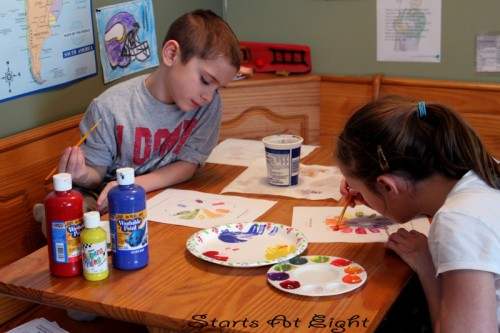 Art in Our Homeschool - Starts At Eight