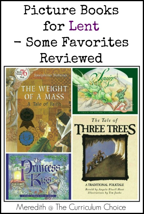Picture Books for Lent - Reviewed