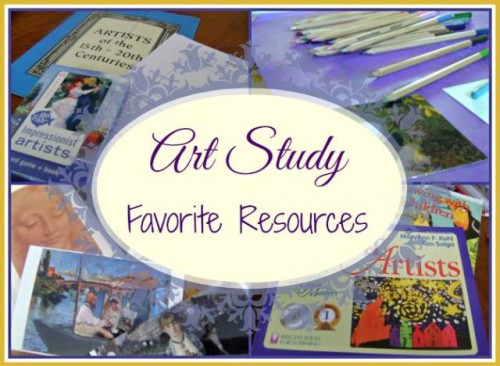 art study favorites