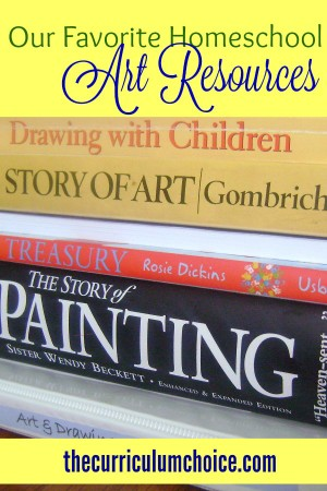 Our Favorite Homeschool Art Resources