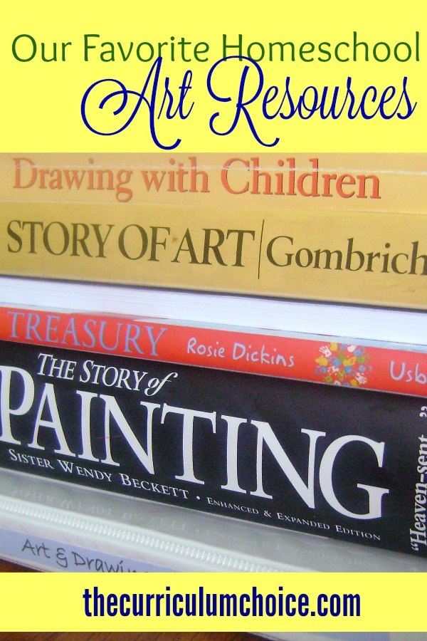 favorite homeschool art resources
