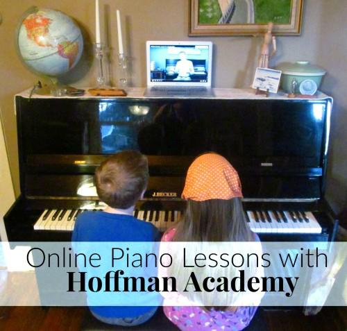 Online Piano Lesson with Hoffman Academy