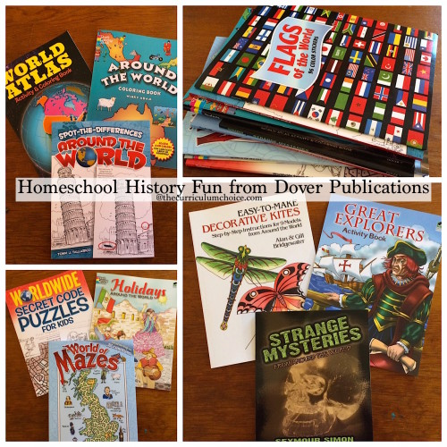 Dover Publications Homeschool History Fun
