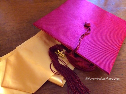 Homeschool High School Graduation Cap and Tassle