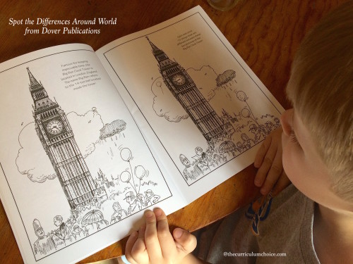 Spot the Differences Around the World from Dover Publications