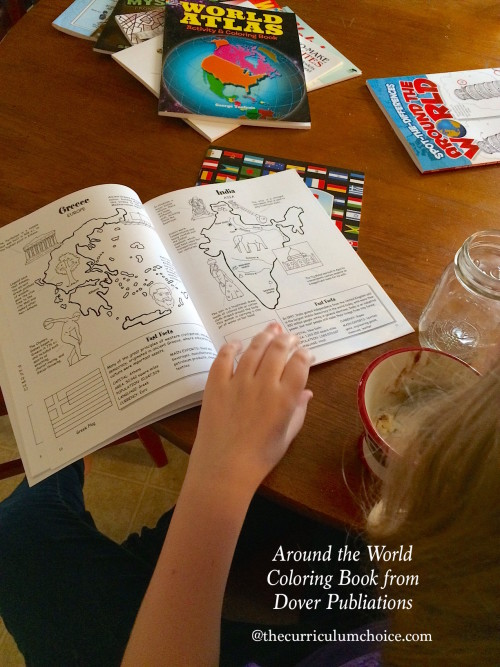 Dover Publications Around the World Coloring Book