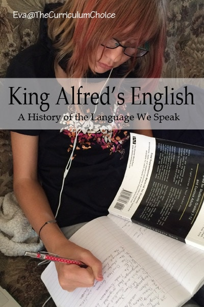 King Alfred's English offers etymology or the study of the origin of words and the way in which their meanings have changed throughout history.